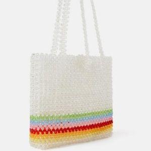 Zara | beaded purse
